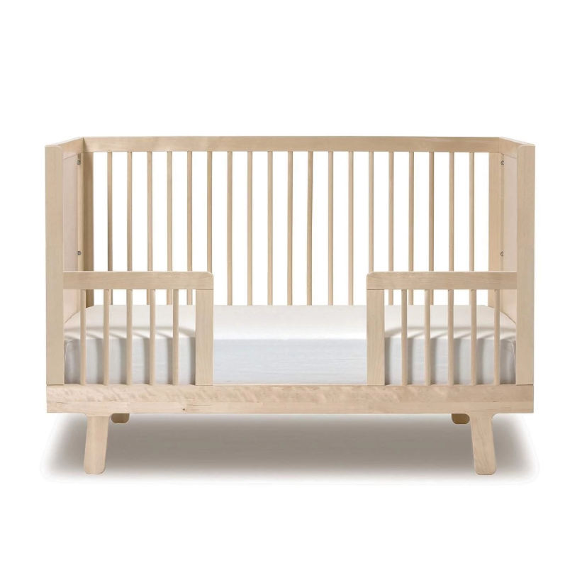 NATURAL UNFINISHED SPARROW TODDLER BED CONVERSION KIT