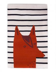 FOX RUG-WHITE/MULTI