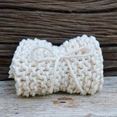 Hand-Knit-Washcloth